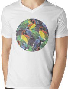Birds Birds Birds Mens V-Neck T-Shirt