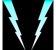 Double Lightning Photographic Print