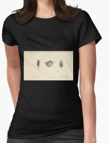Natural History Fish Histoire naturelle des poissons Georges V1 V2 Cuvier 1849 160 Womens Fitted T-Shirt