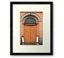 Ipialus Columbia Cathedral Door Framed Print