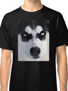 Husky Dog Art - Bat Man Classic T-Shirt