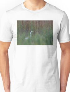 Great Egret amongst the reeds T-Shirt