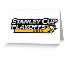 | 2016 Pittsburgh Penguins NHL Stanley Cup Playoffs | Greeting Card