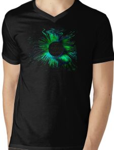 ABSTRACT-ALT+CTRL+DELETE, Clothing & Products Design Mens V-Neck T-Shirt