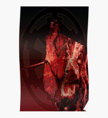 Darth Vader Space Design Poster