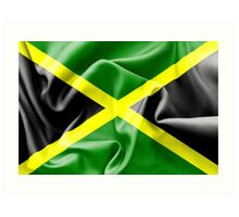 Jamaica Flag Art Print