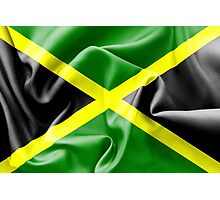 Jamaica Flag Photographic Print
