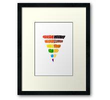 Queer Diversity Framed Print