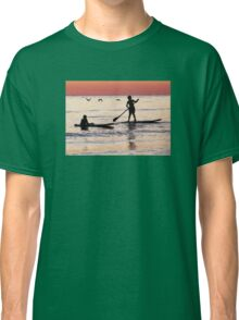 Child Art - Magical Sunset Classic T-Shirt