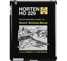 Haynes Manual - HORTEN HO 229 - T-shirt iPad Case/Skin