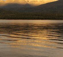 Te Anau Sunrise Sticker