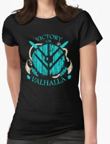 victory or valhalla - shieldmaiden - 2 Womens Fitted T-Shirt