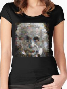 The Genius Of Numbers Women's Fitted Scoop T-Shirt