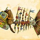 Steampunk Fish 2.0 by Marta Tesoro