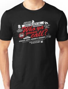 Who Ya Gonna Call? Ghostbusters! T-Shirt