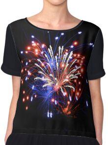 Fireworks Chiffon Top
