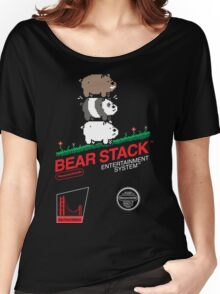 Bear Stack Women's Relaxed Fit T-Shirt