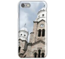Towers on the Basilica in Ibarra iPhone Case/Skin