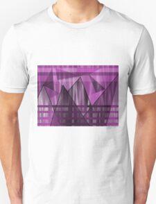 Purple Peaks Unisex T-Shirt