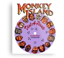 MONKEY ISLAND - DISC PASSWORD Metal Print
