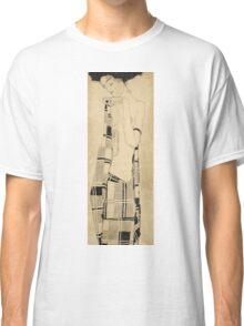 Egon Schiele - Standing Girl. Schiele - woman portrait. Classic T-Shirt