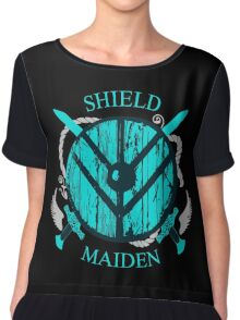 shield maiden - viking warrior - norse Chiffon Top