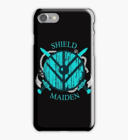 shield maiden - viking warrior - norse iPhone Case/Skin