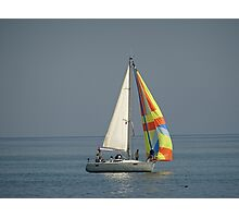 boat in the sea Photographic Print