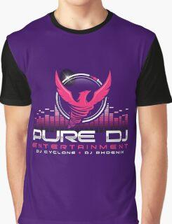 PURE DJ Entertainment NJ Graphic T-Shirt