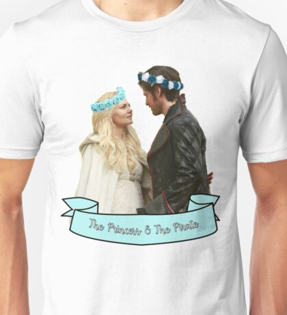 CaptainSwan - Pirate & Princess Unisex T-Shirt