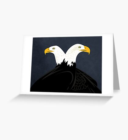 Double Eagles! Greeting Card