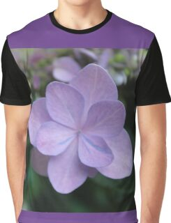 Hydrangea Blossoms Graphic T-Shirt