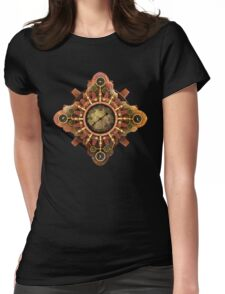 Infernal Steampunk Vintage Machine part No.1A Womens Fitted T-Shirt