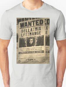 Wanted - Bellatrix Lestrange Unisex T-Shirt