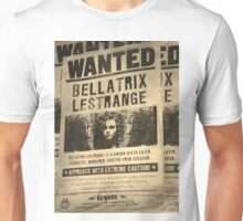 Wanted - Bellatrix Lestrange Unisex T-Shirt