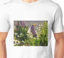 Wild Flowers in Watch Hill = Rhode Island Unisex T-Shirt