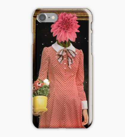 Madonna of the Flowers iPhone Case/Skin