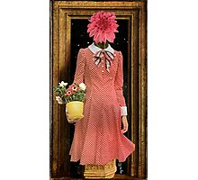Madonna of the Flowers Photographic Print