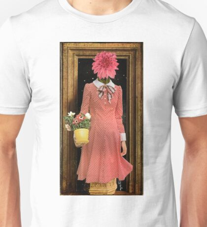 Madonna of the Flowers Unisex T-Shirt