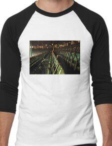 Bostons Fenway Park Baseball Vintage Seats Men's Baseball ¾ T-Shirt
