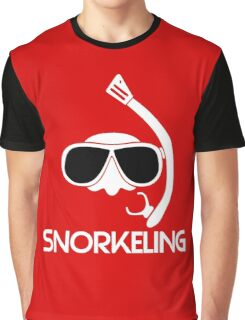 Snorkeling Diving Graphic T-Shirt
