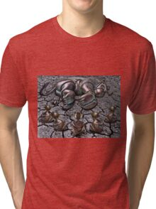 Rut Roh for Lion Tri-blend T-Shirt