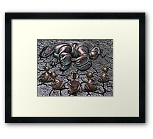 Rut Roh for Lion Framed Print