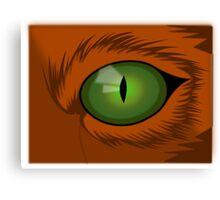 Animal eye Canvas Print
