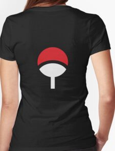 Uchiha Clan Womens Fitted T-Shirt