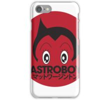 Japanese style astroboy T-shirt iPhone Case/Skin