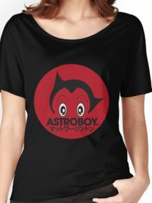 Japanese style astroboy T-shirt Women's Relaxed Fit T-Shirt