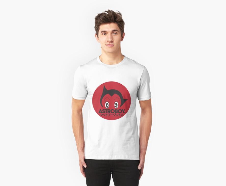 Japanese style astroboy T-shirt by Matt Worthington