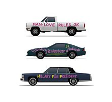 US Road Trip Cars Photographic Print