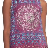 Old Bookshop Magic Mandala Contrast Tank